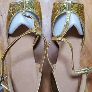 Children Princess Sandals Kids Girls Wedding Shoes High Heels Dress Shoes Party Shoes For Girls Blink