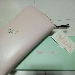 Soft pink (long) wallet
