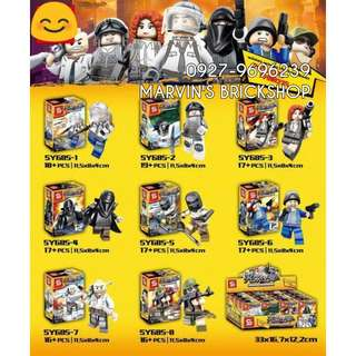 For Sale Latest 8in1 Minifigures Building Blocks Toy