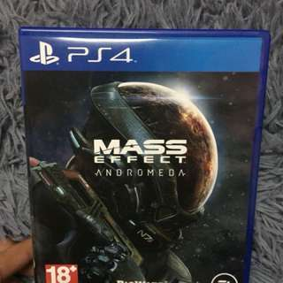 Ps4 games Mass Effect Andromeda