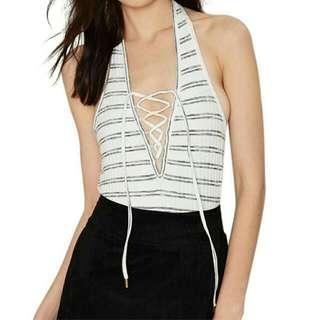 Summer stripe swimwear