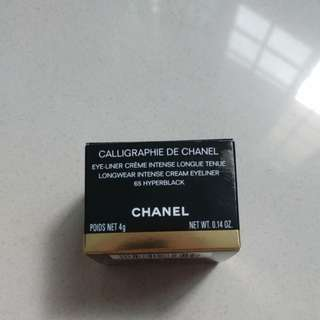 New Chanel longwear intense cream eyeliner 65 hyperblack