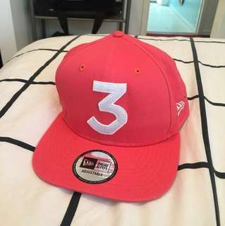 Chance the rapper pink snapback merch