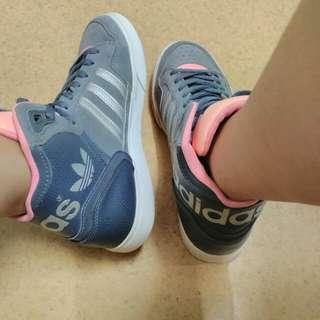 Original Adidas Extaball (Gray/Pink)
