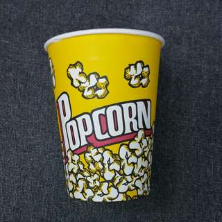 中型爆谷杯 (直徑11cm,高15cm, 20個一包,共有29包,每包$10)