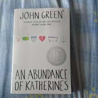 An Abundance of Katherine by John Green