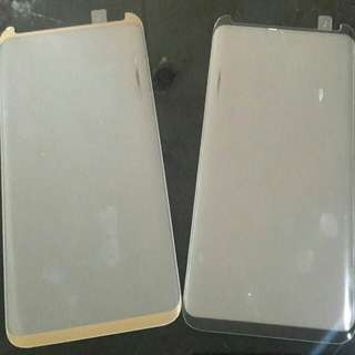 Samsung S8 Tempered Glass Kaca Melengkung Curve Full Colors