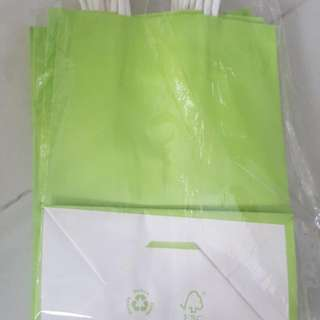 PARTY Goody Bag Lime Green