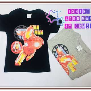 Tshirt Iron Man(4y)