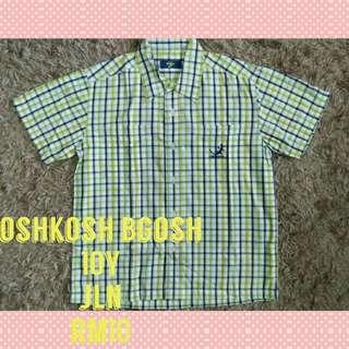 10y oshkosh shirt