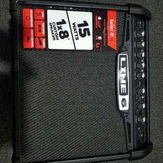 Line6 Spider IV 15watts Guitar Amplifier
