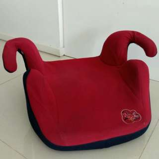 Car booster seat for children