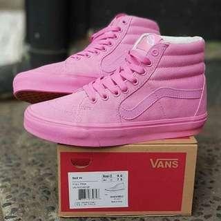 Vans SK8Hi Women Full Pink Premium Quality Shoes