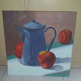 Canvas Painting - Morning Tea