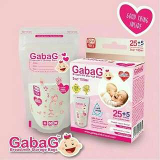 Kantong ASI Gabag Pink Newborn 100ml