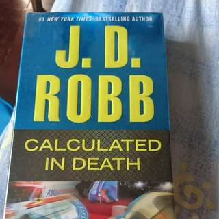 Calculated in Death JD ROBB