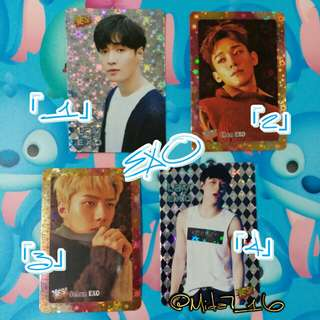 EXO/LAY/CHEN/SEHUN「YES!」咭