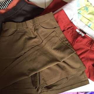 Brand New Skirts And One Skort