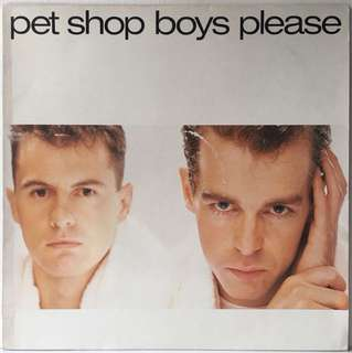 "Pet Shop Boys ‎– Please (1986 Europe Original - Rare ""Big Picture"" Sleeve - Vinyl is Near Mint)"