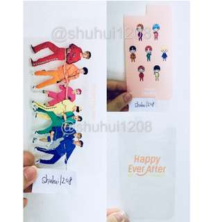 💢PRICE REDUCED💢 BTS 4th Muster Official iPhone Layered Film