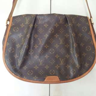 Authentic Louis Vuitton Menilmontant Bag