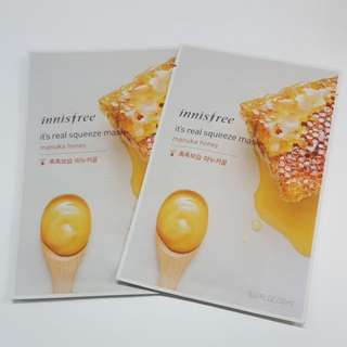 Innisfree Manuka Honey Masks