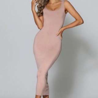 Nude Dress $80 size 10 new