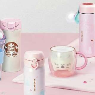 Starbucks Korea 2018 Valentine's Collection
