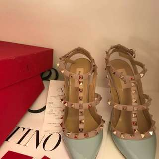 Valentino Rockstuds 100mm High Heels