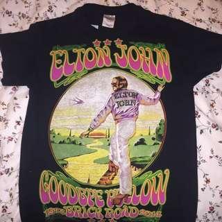 Vintage Elton John Tour T-Shirt