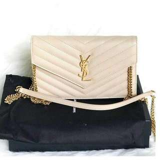 authentic ysl bag new only 1 pc 19cm