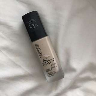 CATRICE ALL MATT PLUS FOUNDATION 10