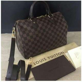 authentic LV bandou bag