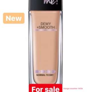 Foundation Maybelline Fit Me Dewy+Smooth shade 310 (sun beige)