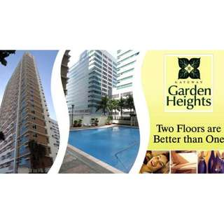 2 floors condo unit in Mandaluyong near MRT Boni, Mall, Cubao, Makati, Shaw blvd. 5% dp mve in. last unit