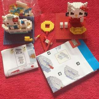 Hello Kitty Micro Mini Blocks