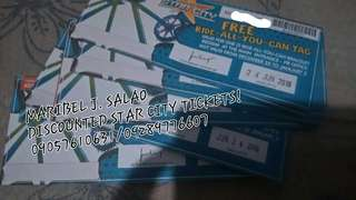 STAR CITY TICKETS FOR SALE!