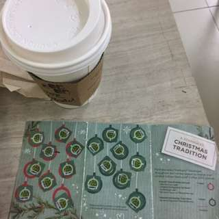 Starbucks Planner! Completed stickers
