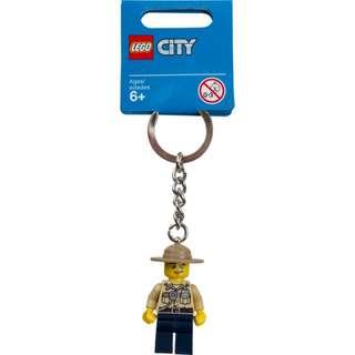 Lego 853463 City Swamp Police Keychain