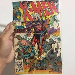 Xmen comic volume 2 #2 - Magneto Triumphant Jim Lee