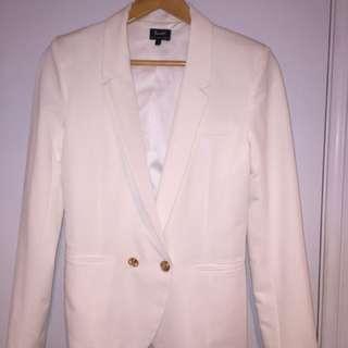 Ivory Blazer/ Jacket