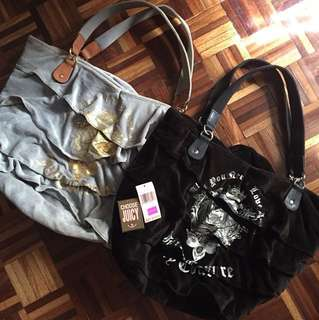 Buy 1 Get 1 Juicy Couture Big Tote Bag