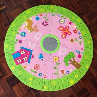 Puzzle foam mat
