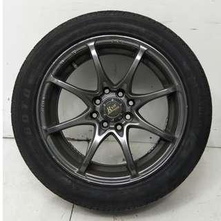 15 '' Sport Rim With Tyre 4x100 4x114.3 (SR883)