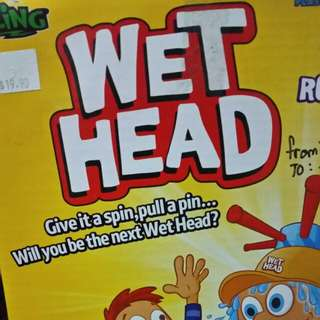 To bless Wet Heads