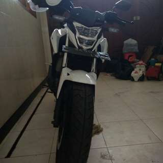 Honda all new cb150r