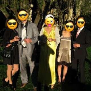 SEDUCE Canary Yellow Formal Dress