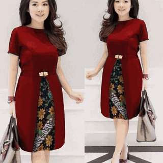 dress chika red