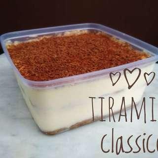 Tiramisu Classico or Lemone uk 800gr