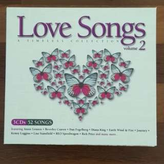 Love Songs Vol.2 (3 CD set)